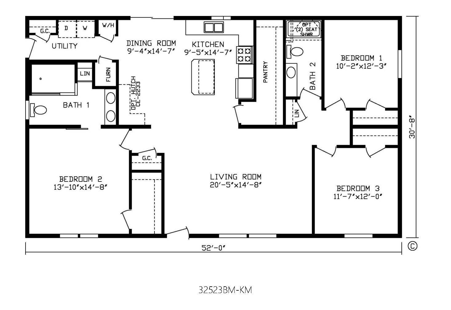 How Much Is A 3 Bedroom 2 Bath Modular Home